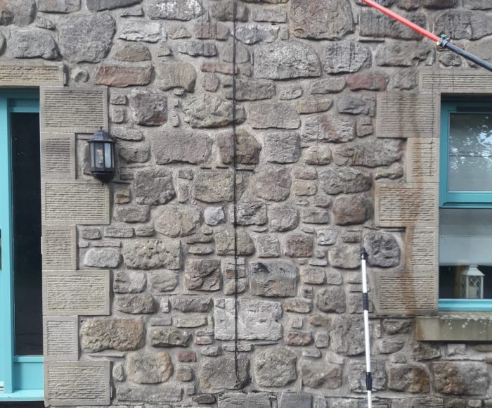 Sandstone Cleaning Bathgate Before