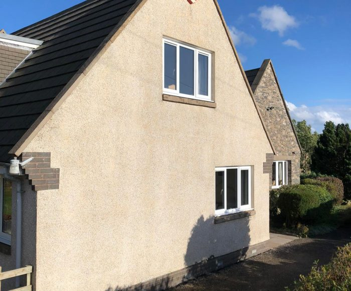 Roughcast Cleaning Lauder Scottish Borders After