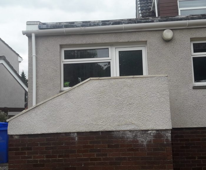 External Stairs Cleaning After