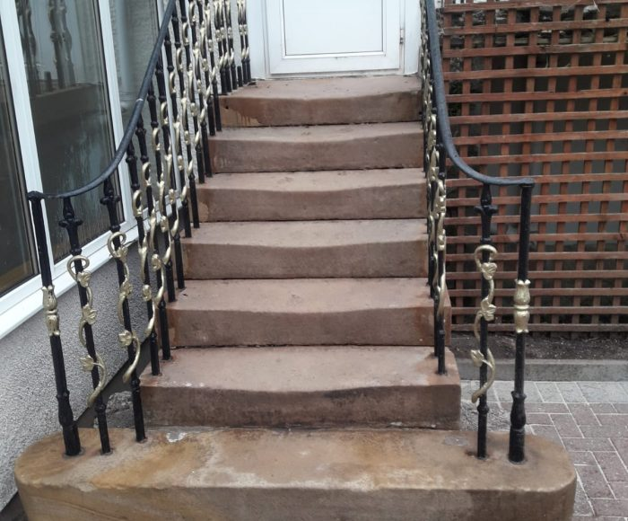 Sandstone Cleaning Garrats Leisure After