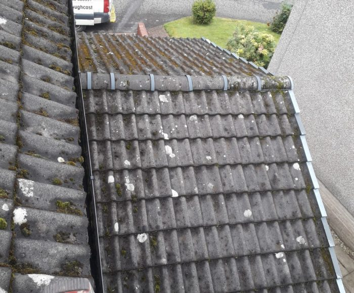 Roof Tiles Cleaning Before