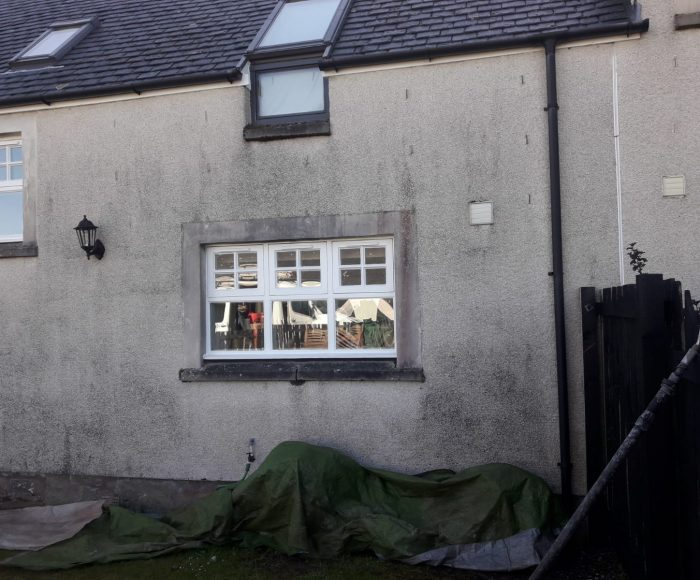 Roughcast Cleaning Thornhill Before