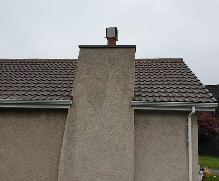 Roughcast Cleaning After