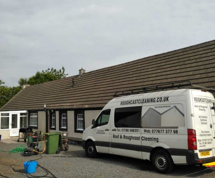 Roof Cleaning Dalry Before