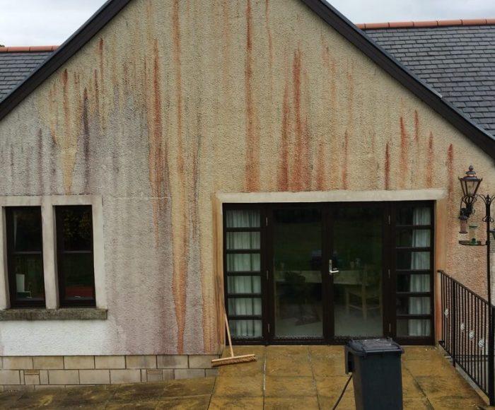 Red Oxide Removal Glendevon Before