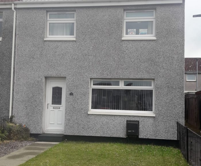 Roughcast Cleaning Tullibody After