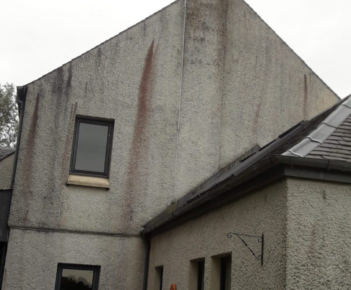 Roughcast Cleaning Linlithgow Before